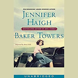 Baker Towers                   By:                                                                                                                                 Jennifer Haigh                               Narrated by:                                                                                                                                 Anna Fields                      Length: 8 hrs and 49 mins     51 ratings     Overall 3.4