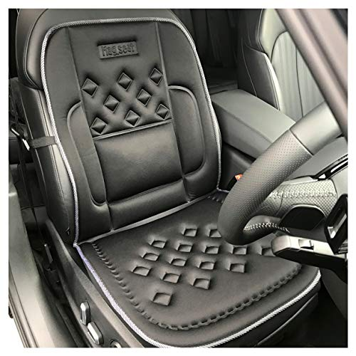 Universal Auto Sitzkissen Vorne Sitzauflage Sitzbezüge Sitzmatte Bambusfaser DE