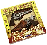 Göhner Cowboy Wild West Set 8-Shots Doppio Revolver con Fondina e della Stella dello Sceriffo
