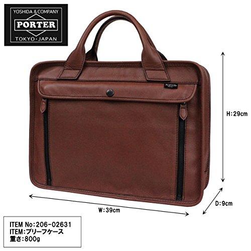 [ポーター]PORTERバロンBARONブリーフケースビジネスバッグ(a4対応)206-02631(キャメル/40)