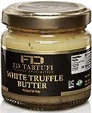 FD TARTUFI White Truffle Butter 80g (2.82oz) - (Tuber Borchii) Gourmet Sauce | Condiments | Made in Italy | non gmo | Italian Butter | White Truffles