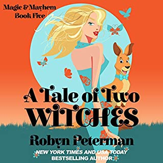 A Tale of Two Witches     Magic and Mayhem, Book 5              Written by:                                                                                                                                 Robyn Peterman                               Narrated by:                                                                                                                                 Stephanie Riggio                      Length: 5 hrs and 18 mins     1 rating     Overall 5.0