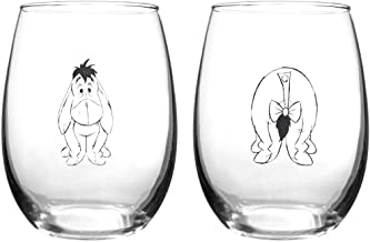 Winnie The Pooh Collectible Wine Glass Set (Eeyore)