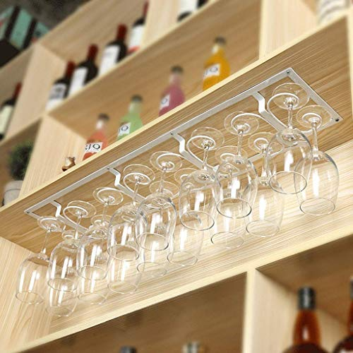 BGHDIDDDDD Novedad Estante para Vino Estantes para Vino Estante Organizador de Vino Estante para Copas de Vino Estante para Vino Montado en la Pared Soporte para Copas Armario Colgante Estante de Vid