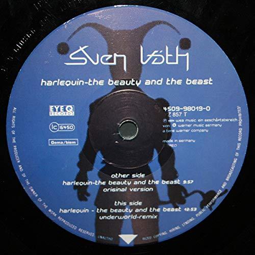Sven Väth - Harlequin - The Beauty And The Beast - Eye Q Records - 4509-98019-0, Eye Q Records - YZ 857 T - 2