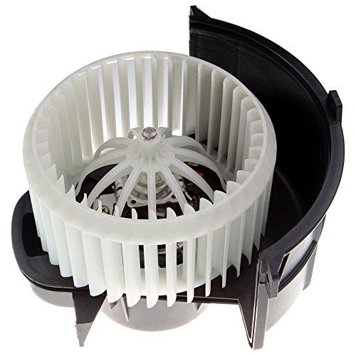 HVAC Plastic Heater Blower Motor ABS w/Fan Cage ECCPP Front for 2007-2015 Audi Q7 /2003-2010 Porsche Cayenne /2004-2010 Volkswagen Touareg
