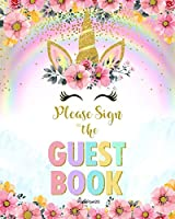 Birthday Guest Book For Girls