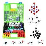 MKULOUS Modelos Moleculares Kit Orgánica (332 Piezas), Científica atomía enseñanza Set para Maestros Estudiantes Científico Clase de Química