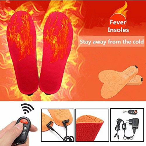 Bluelover Infrarood Voetwarmer, op afstand oplaadbare schoen, boot, infrarood, voet, warme thermische inzetstukken