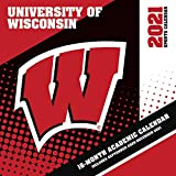 Wisconsin Badgers 2021 12x12 Team Wall Calendar