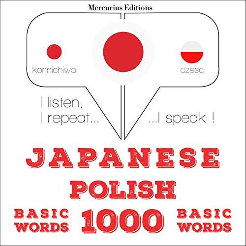 Japanese - Polish. 1000 basic words cover art