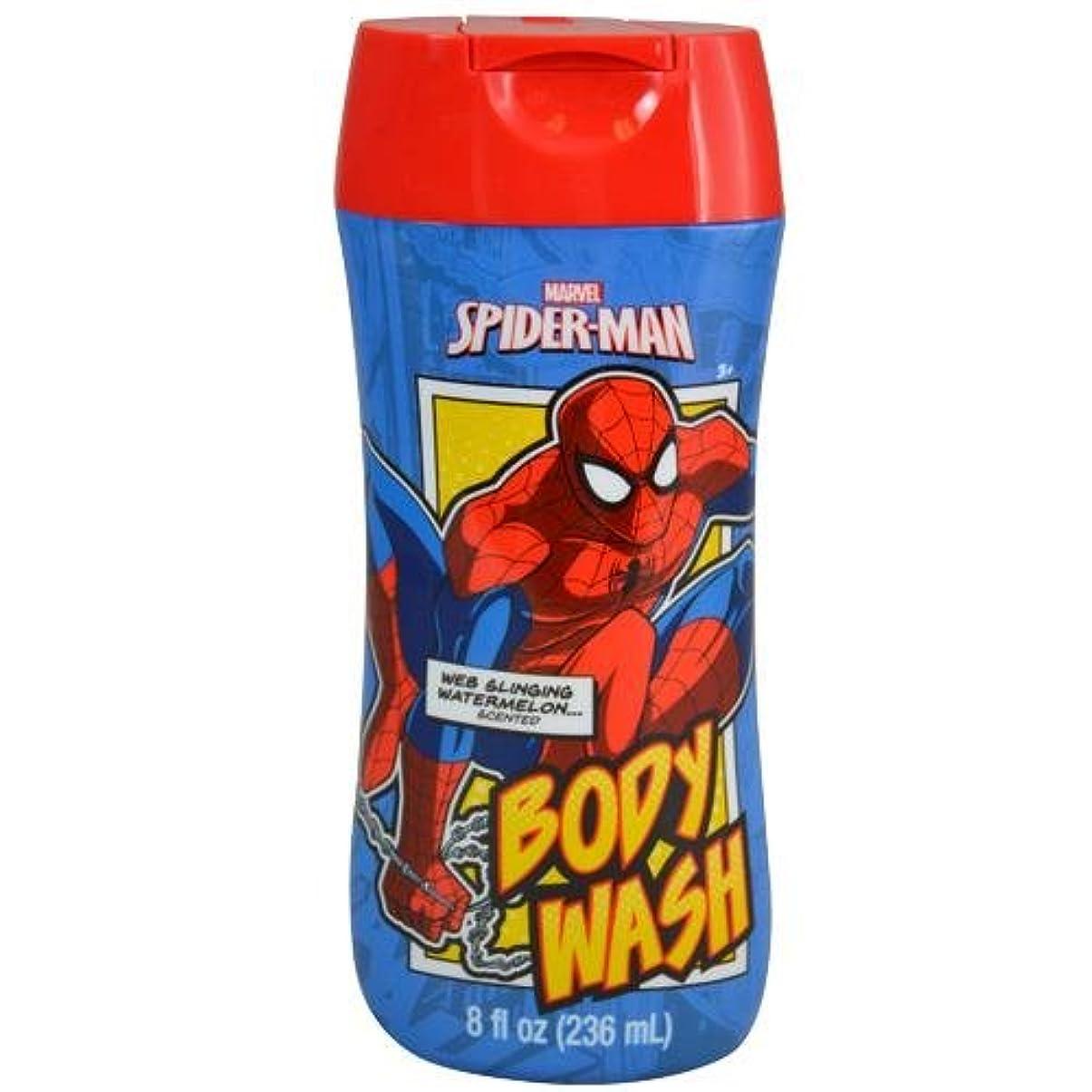 付添人キャロライン超えるスパイダーマン SPIDER-MAN ボディーソープ 12185 MARVEL お風呂 ボディ ソープ 子供用 キッズ ボディソープ MARVEL ボディウォッシュ マーベル ボディーウォッシュ【即日?翌日発送】