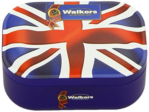 Walkers Shortbread Union Jack Geschenkdose, 2er Pack (2 x 120 g)