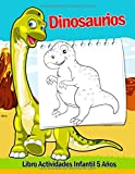 Libro Actividades Infantil 5 Años - Dinosaurios: 108 Páginas Grande Actividades, Libro Para Colorear Niños Dinosaurios, Crucigramas Faciles En Ingles, ... Conecta Los Puntos, Colorear Por Numeros!