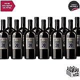 Mas Amiel 20 ans d'âge Rouge - Appellation AOC Maury - Vin Doux Rouge du Languedoc - Roussillon - Cépages Grenache, Macabeu, Carignan - Lot de 12x75cl