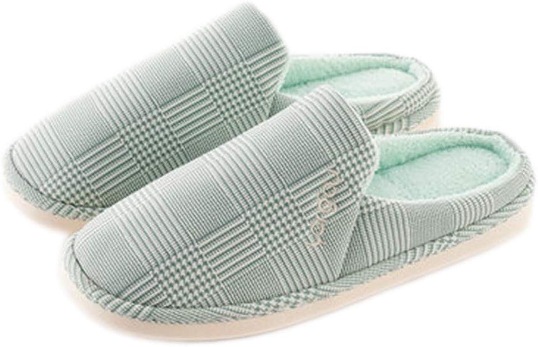 Unisex Winter Cotton Slippers Indoor Waterproof Pu Leather Coral Fleece Cozy Anti-Slip Simple Outdoor Indoor shoes