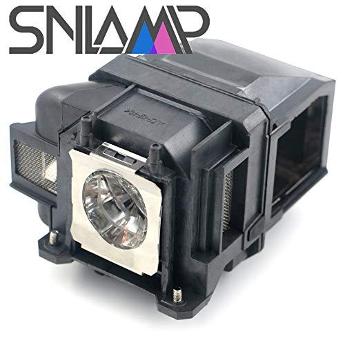 SNLAMP ELPLP78 / V13H010L78 Lampada proiettore di Ricambio Lampadina con alloggiamento per EPSON EB-X18 EB-X20 EB-X200 EB-X24 EB-X25 EH-TW410 EH-TW490 EH-TW5100 EH-TW5200 EH-TW570 proiettori