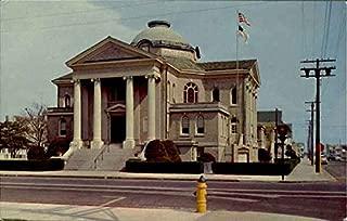 Ocean City Baptist Church, 10th St. & Wesley Ave Ocean City, New Jersey Original Vintage Postcard