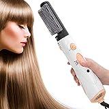 Rizador de pelo, multifuncional eléctrico para alisar el cabello peine para rizar secador de pelo cepillo ondulación del cabello rizador herramienta eléctrica(EU)