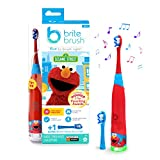 BriteBrush Kids Toothbrush With Elmo - Makes It Fun To Brush Right With Games and Songs