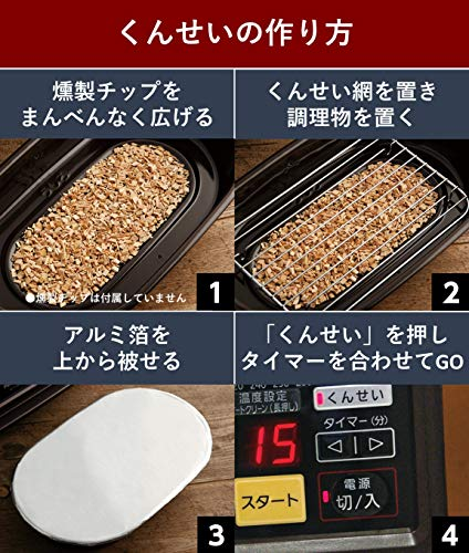 Panasonic(パナソニック)『スモーク&ロースターけむらん亭』