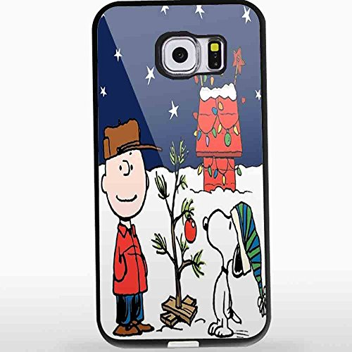 Charlie - Funda para iPhone y Samsung Galaxy (diseño navideño), Color marrón