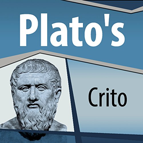 Plato's Crito audiobook cover art