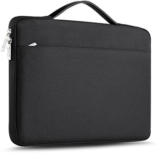 "ZINZ Super Slim Laptop Sleeve 11.6 13 Inch Case Briefcase, Compatible MacBook Air Retina A1932, MacBook Pro A1706 A1708,MacBook 11.6"" and Popular 11""-13"" Notebooks, Black US"