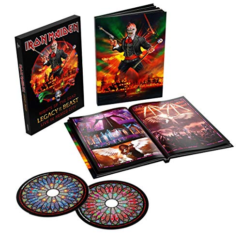 Nights Of The Dead Legacy Of The Beast Live In Mexico (Deluxe Edt. Book Format)