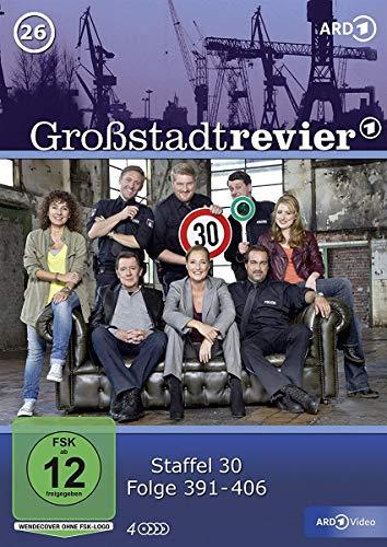 Großstadtrevier 26 - Folge 391 bis 406 (Staffel 30) [4 DVDs]