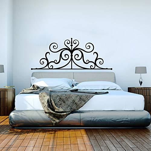 Hetingyue muursticker, groot, ijzer, hart, hoofdeinde, voor bank, slaapkamer, groot, hartvorm, pijl, nachtkastje, wandsticker, woonkamer, kinderen