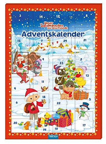 Trötsch Unser Sandmännchen Magnet-Adventskalender Weihnachten: mit 24 tollen Magneten