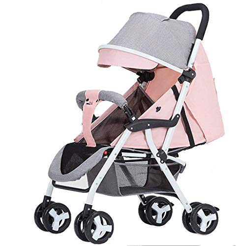 Best Bargain Lightweight Umbrella Stroller Baby Carriage with Reclinable Backseat Compact Pushchair ...