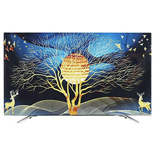 Moderne Minimalistische TV Cover LED-scherm Dust-proof En Krasbestendig Protective Cover 32-65in Cover Beautiful Interior Decoration (Size : 50-52in)