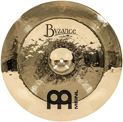 "MEINL Cymbals マイネル Byzance Brilliant Series チャイナシンバル 18"" Heavy Hammered China B18HHCH-B 【国内正規品】"