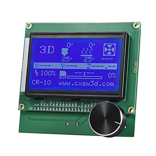 Aibecy 2004 LCD Screen Controller Display with Cable for Reprap Ramps 1.4 3D Printer Kit Accessory for Creality CR-10/10S