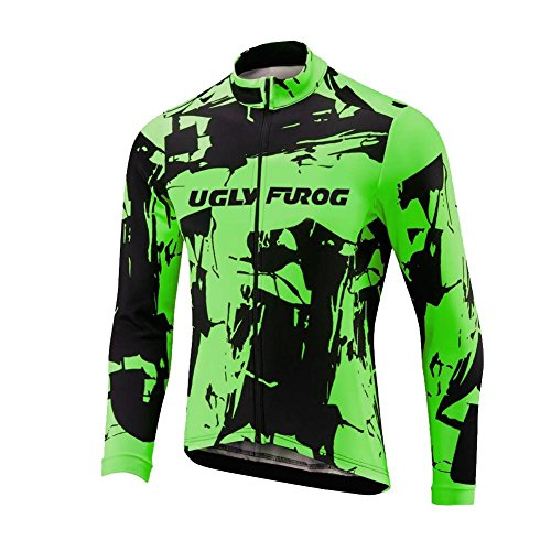 Uglyfrog 2016 Bike Wear De Manga Larga Maillot Ciclismo Hombre Equipos Una Gran Cantidad De Colores ESHSLJ06
