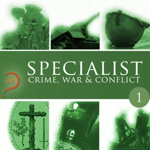 Specialist audiobook cover art