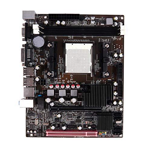 TOOGOO Desktop A780 Ordenador Placa Base Am2 2X Ddr2 Pc Mainboard Soporte de Doble Canal Vga Dvi para Am 2 Serie 940 Pin USB 2.0 IDE