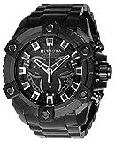 Invicta Coalition Forces Reloj de cuarzo suizo con correa de acero inoxidable, negro, 31 (Modelo: 24314)