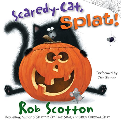 Scaredy-Cat, Splat! audiobook cover art