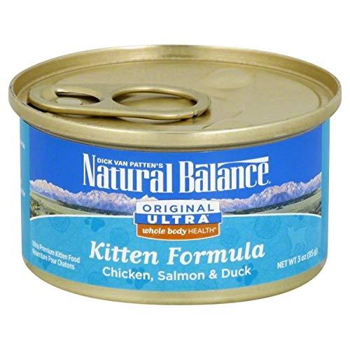 Natural Balance Kitten Formula Canned Wet Cat Food