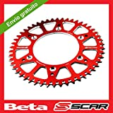 Corona Aluminio Antibarro BETA RR 125 250 300 350 390 430 480 SCAR - 48 dientes