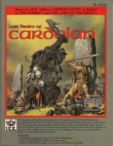 The Lost Realm of Cardolan (Middle Earth Game Supplements, Stock No. 3700)