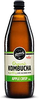Remedy Organic Kombucha Apple Crisps, 750ml