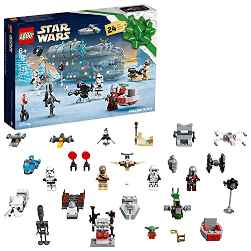 LEGO Star Wars Advent Calendar 75307 Awesome Toy Building Kit for Kids...