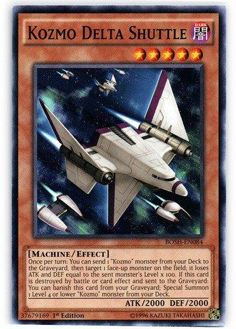Yu-Gi-Oh! - Kozmo Delta Shuttle (BOSH-EN084) - Breakers of Shadow - 1st Edition - Common