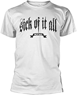 Sick Of It All 'Pete' (White) T-Shirt