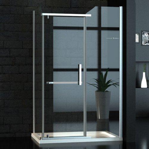 Zelsius – Ancho Cristal cabinas de ducha/Mampara 80 x 120 cm – R de: Amazon.es: Bricolaje y herramientas
