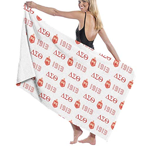 shenguang Delta DST Sigma 1913 Beach Travel, Spa Yoga Bath Wrap Super Absorbent Fast and Drying Wraps Soft Oversized Size Bath Towel